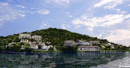 地处国家aa级九龙湖旅游度假区,拥有近35万㎡的大型水库.